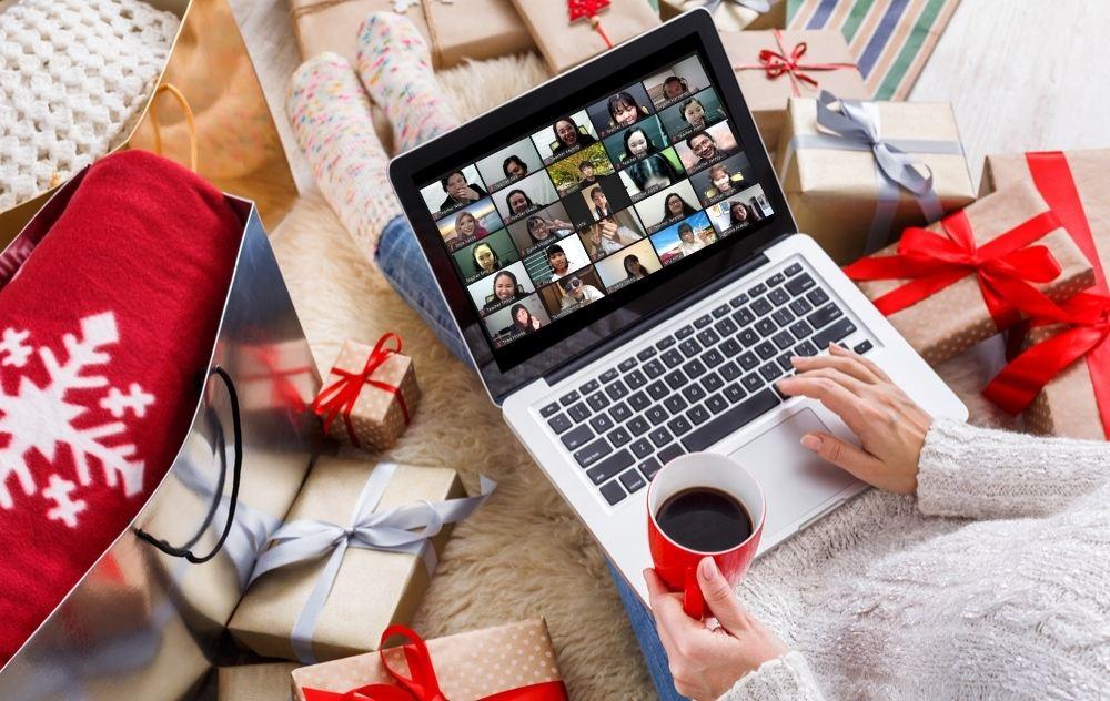 オンラインでクリスマスパーティ