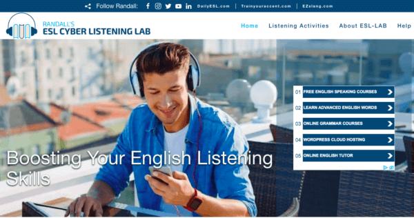 0円リスニング力爆アゲ方法:その2「Randall's ESL Cyber Listening Lab」
