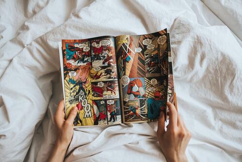 英語学習として漫画を読む