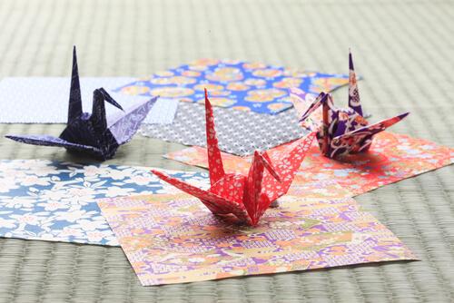 外国人におすすめの日本のお土産「折り紙」